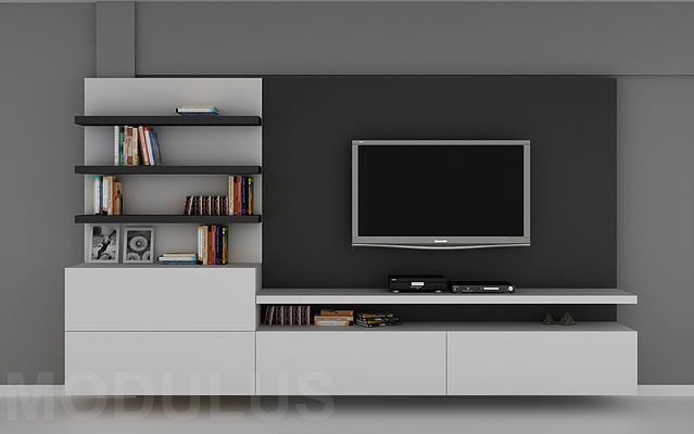 Modulares Para Living, Tv, Lcd, Led. Wall Unit, Muebles Para Tv