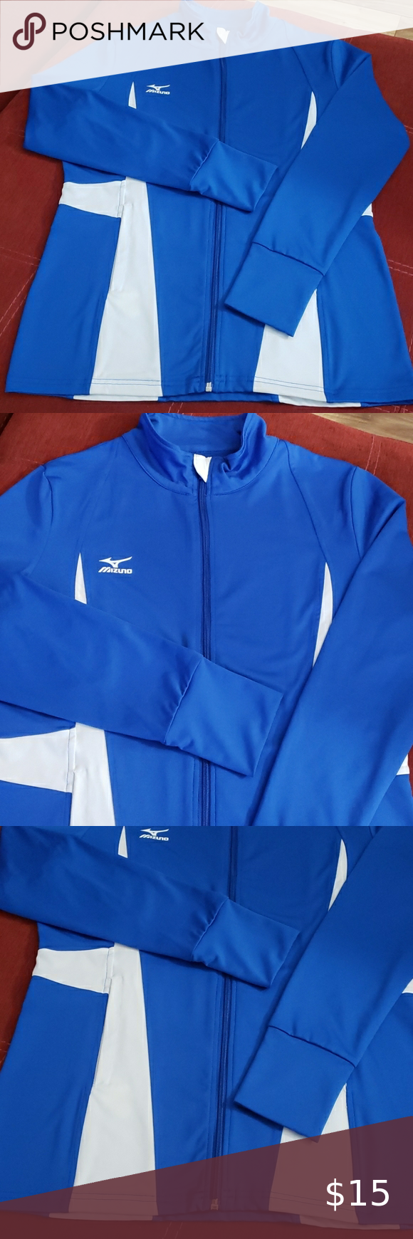 Mizuno Drylite Volleyball Warm Up Jacket In 2020 Volleyball Warm Ups Jackets Mizuno
