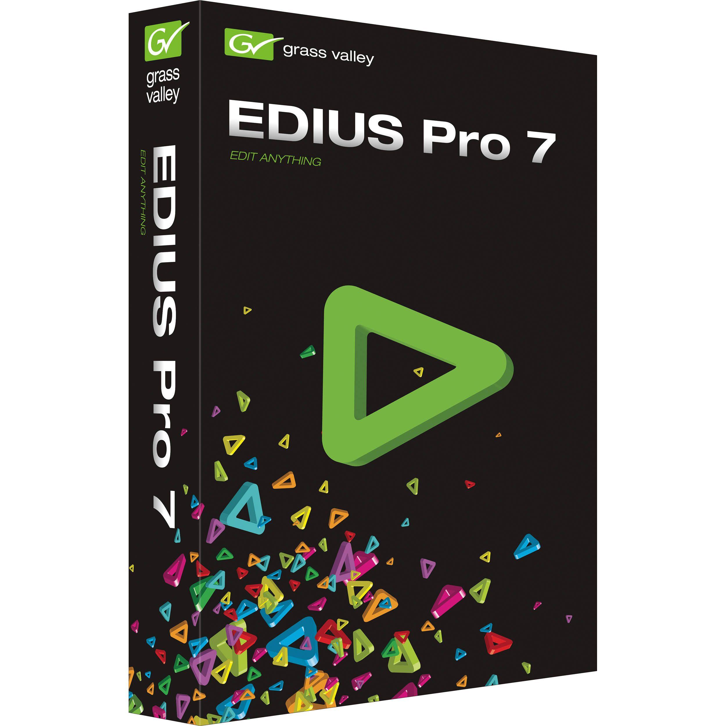 EDIUS Pro 7 Crack plus Serial Key Full Version Free Download | Keys ...