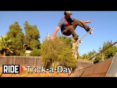 Learn a new trick each and every day from top pros. You'll get step-by-step instructions on how to master every trick in skateboarding! Tune in seven days a week to learn something new.    Today Kyle Berard shows you how to Ollie Fakie