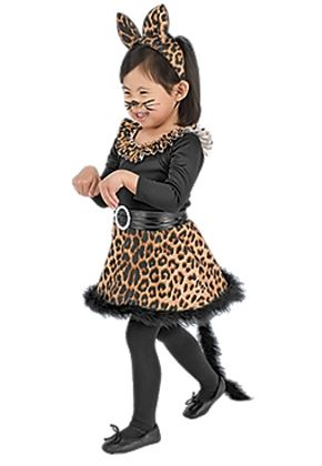 SheKnows.com features our Leopard costume as a top pick for little girls!  This purrfect leopard costume is adorable.   sc 1 st  Pinterest & Top little girlsu0027 Halloween costumes | Pinterest | Leopard costume ...