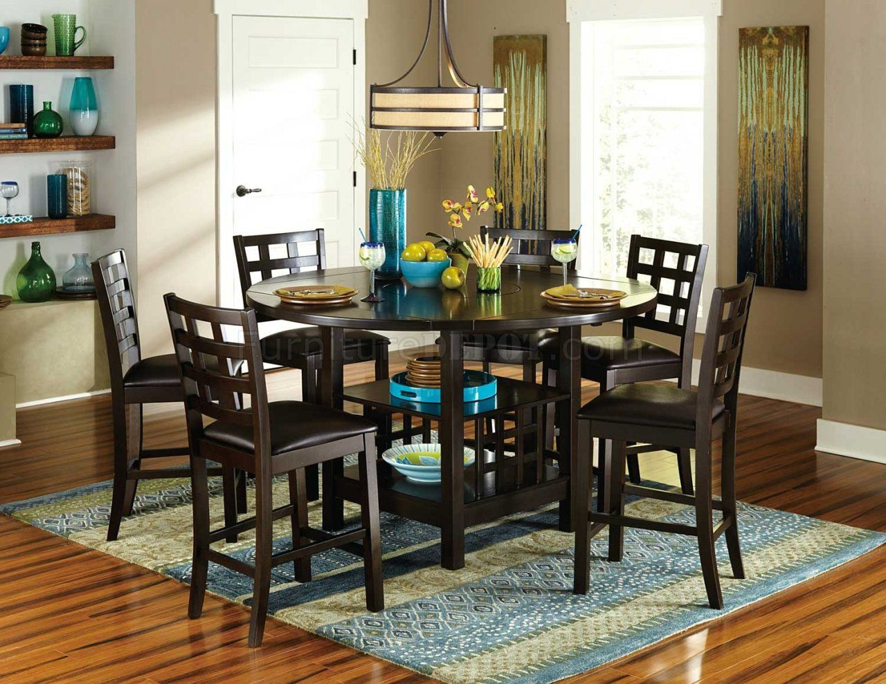41++ 36 round counter height dining table Top