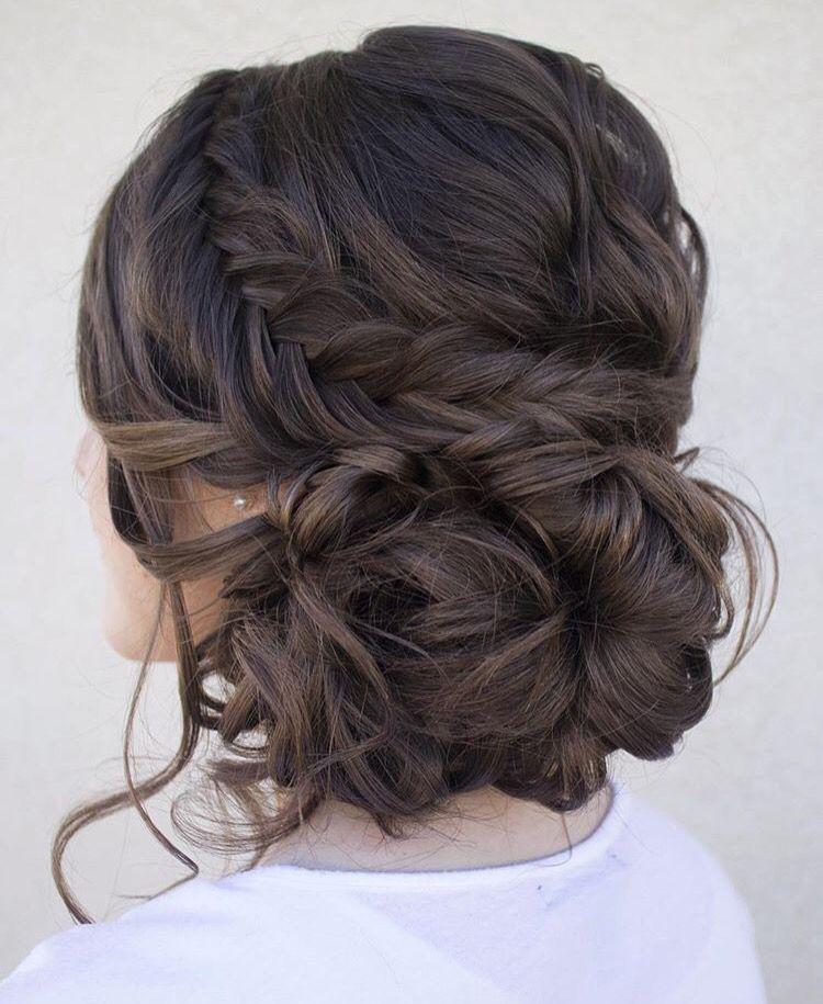 Just So Elegant Hair Buns Wedding Hairstyles Long Hair