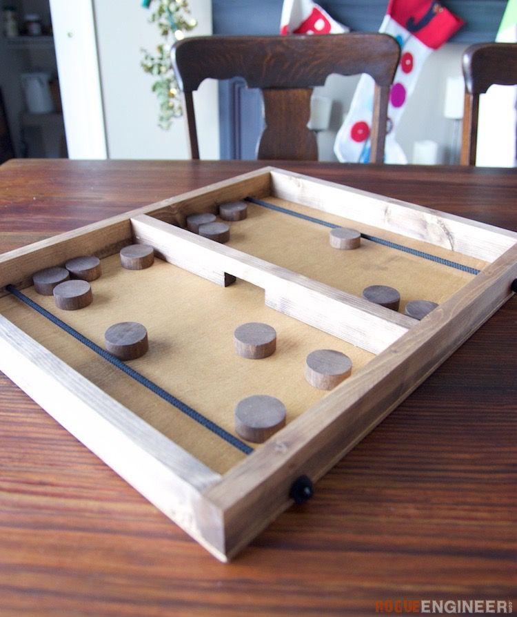 Pucket Game Rogue Engineer Diy Plans Wooden Diy Wood Games