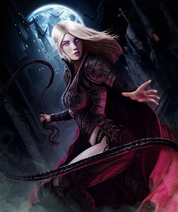 Fantasy Art Female Vampire Art