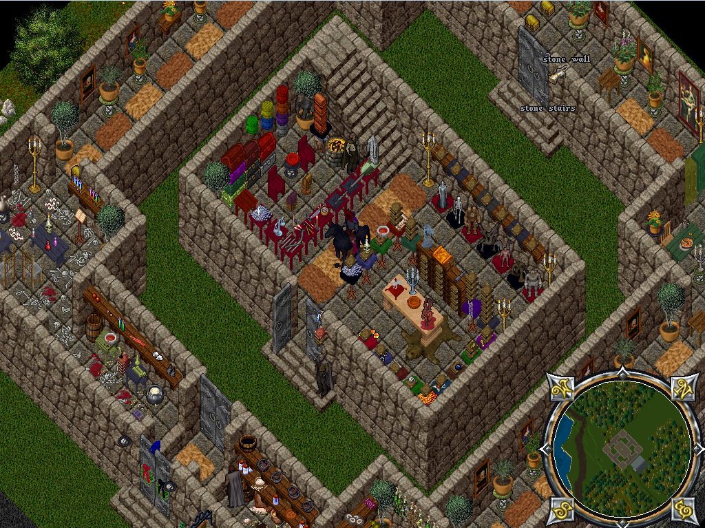 A decorated castle on the renaissance ultima online free for House decoration online