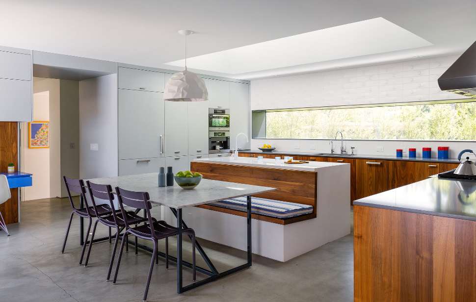 Integral Island Banquette Inspiration | KitchAnn Style ...
