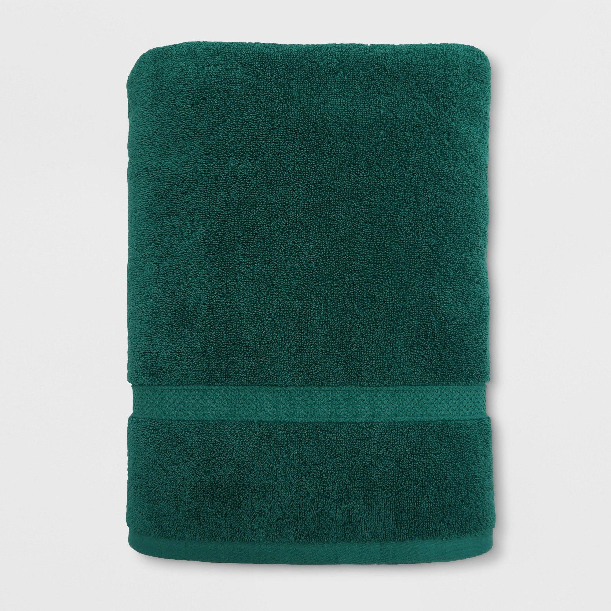 Soft Solid Bath Sheet Bluff Green Opalhouse Adult Unisex In