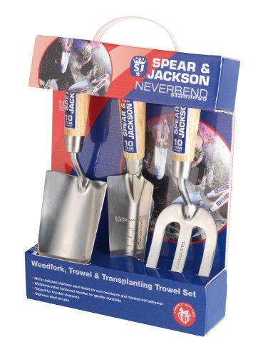 Spear  Jackson 3056GS12 3Piece Never Bend Stainless Steel Gift Set >>> Visit the image link more details.