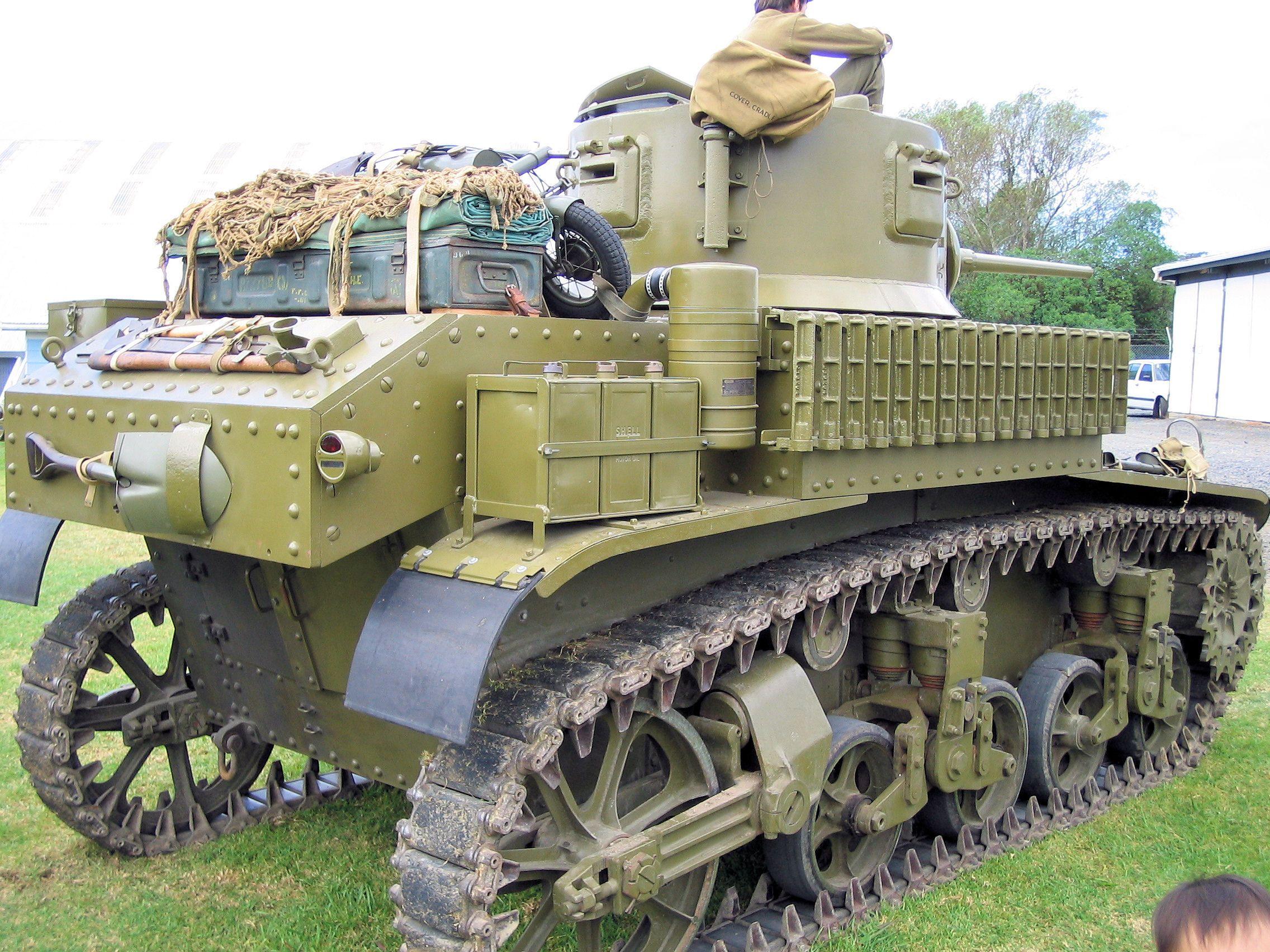 M3 Stuart Light Tank (1940)
