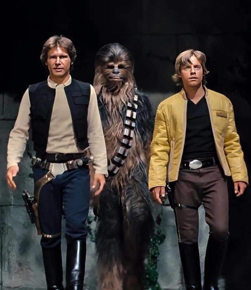 Luke Skywalker on Twitter