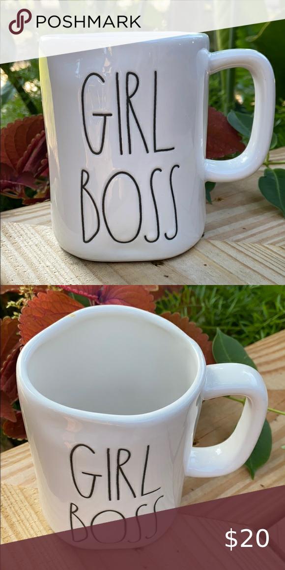 New Rae Dunn GIRL BOSS Coffee Tea Mug