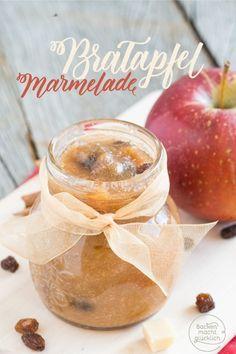 Bratapfel-Marmelade mit Marzipan | Backen macht glücklich