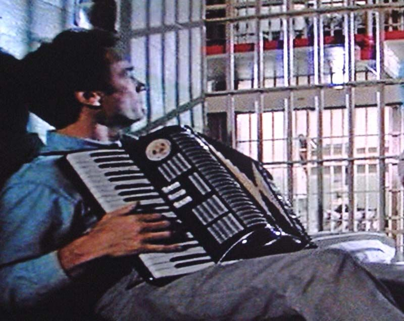 Clint Eastwood In Escape From Alcatraz Accordion Piano Accordion