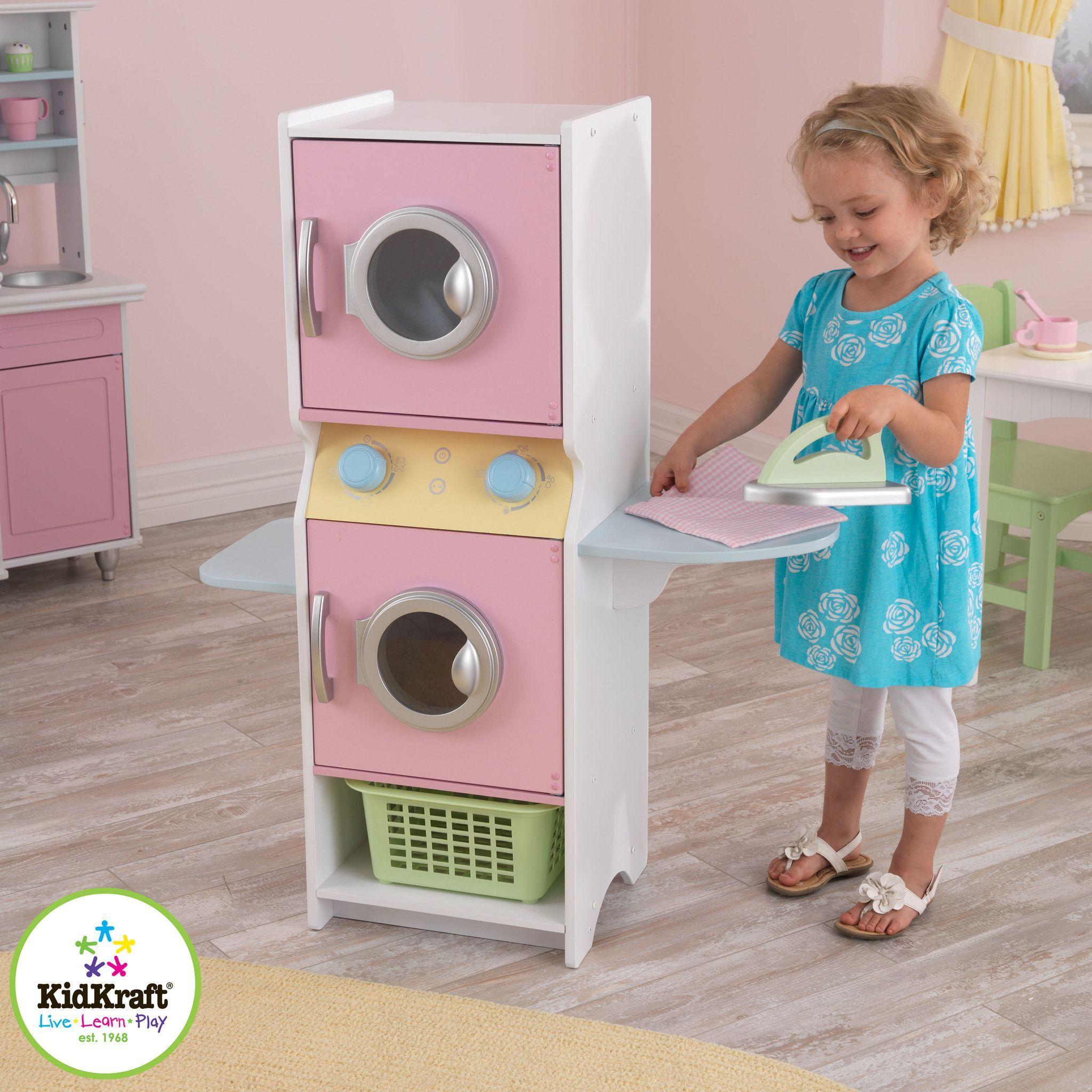 Kid 63179 Laundry Play Set Kids Playroom Kid Laundry Playset