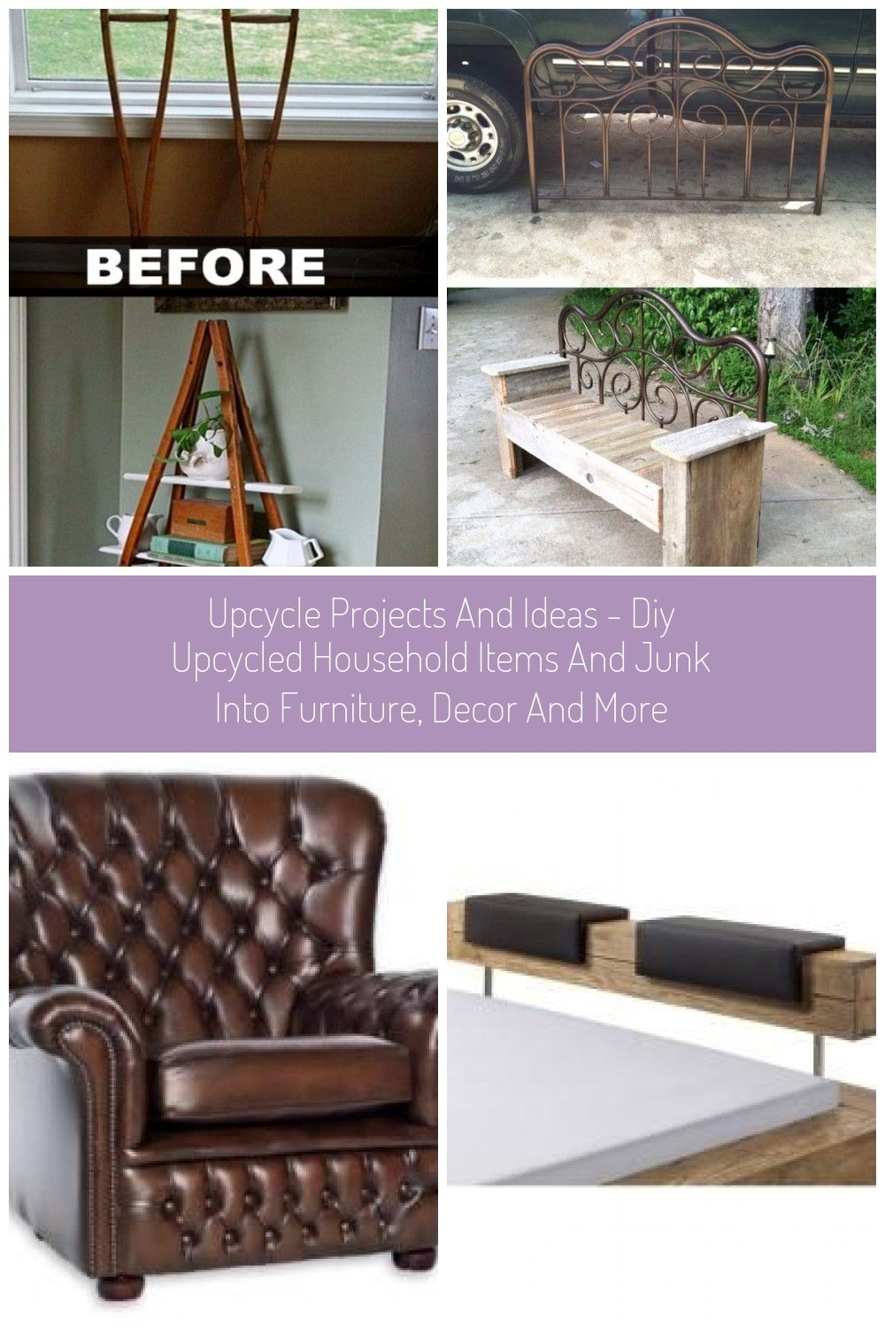 Upcycle Projects And Ideas Diy Upcycled Household Items And Junk