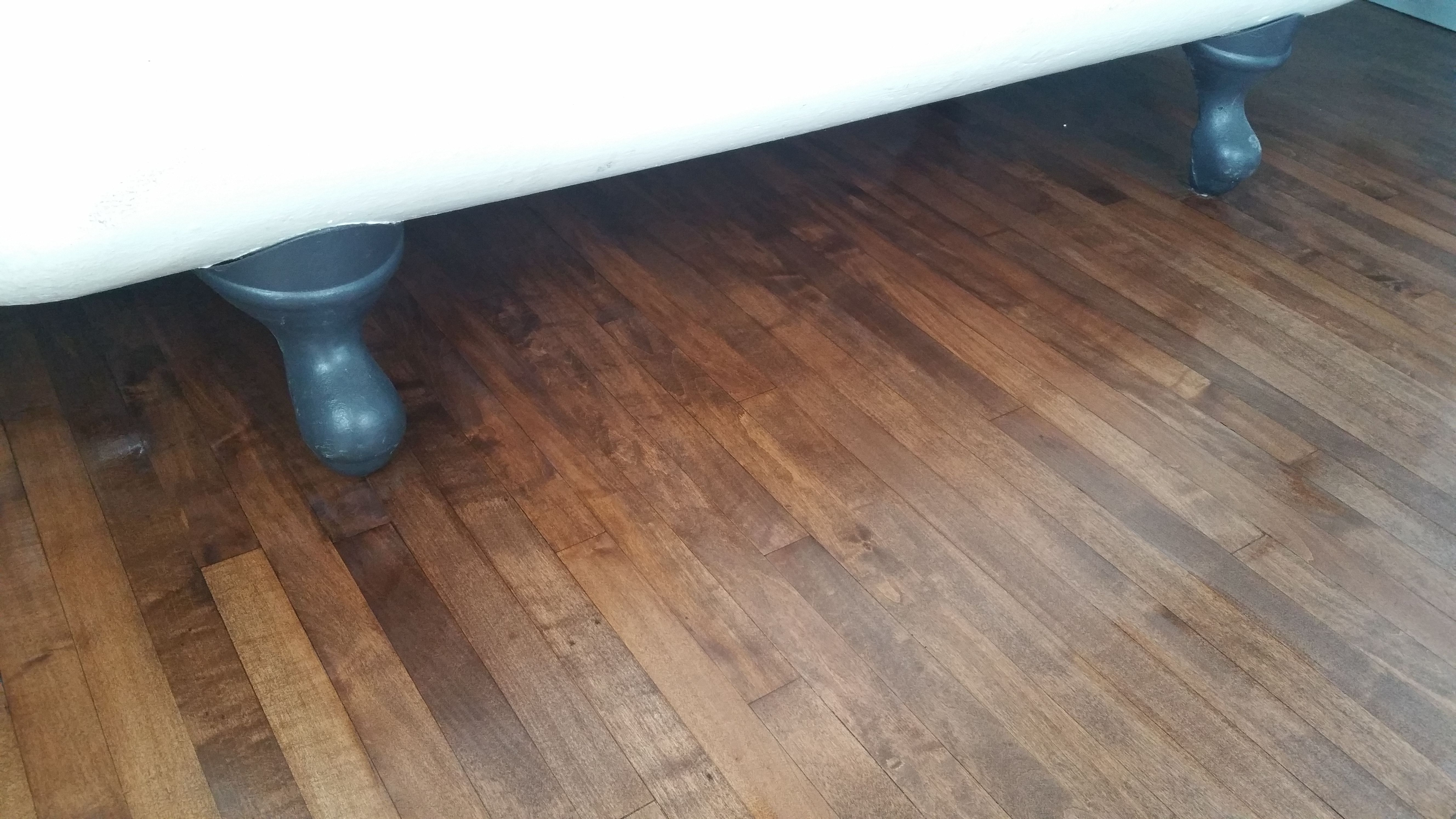 """1 1/2"""" maple in a 100 year old Calgary home. Was in"""