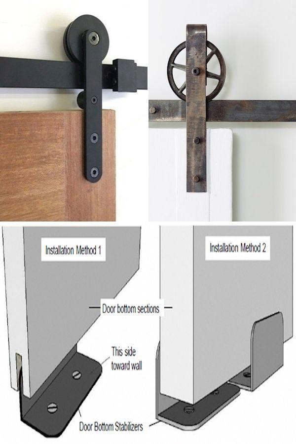 Barn Door Lock Systems Barn Door Rail Kit Barn Gate Hardware In 2020 With Images Barn Door Barn Door Locks Door Lock System