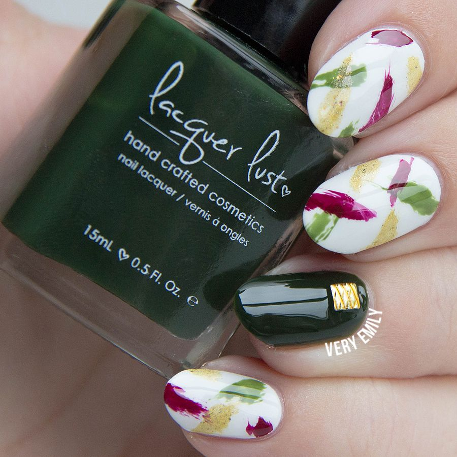 Paint All The Nails Presents Dry Brush (Very Emily) | Abstract nail ...