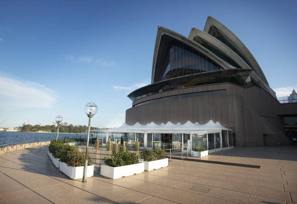 opera point marquee on sydney harbour foreshore sydney