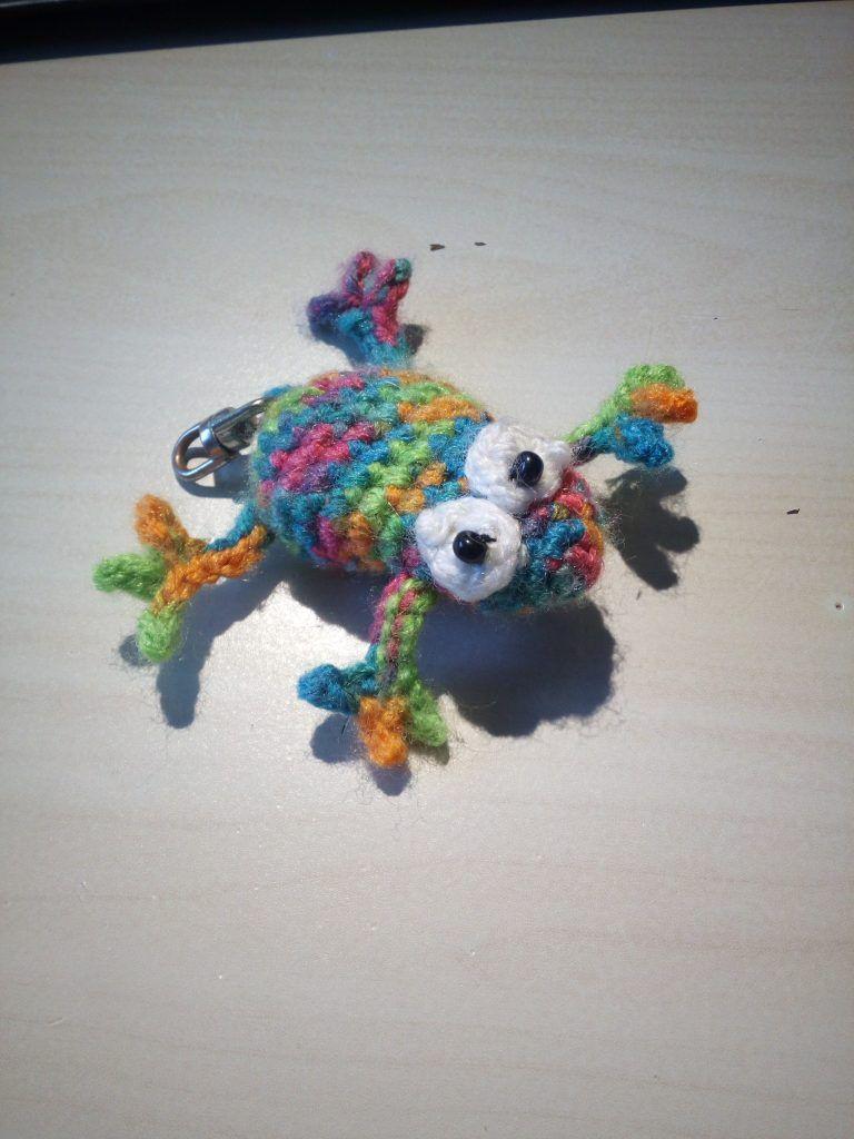 Amigurumi Kleinen Frosch Häkeln Fröschlein Kostenlose