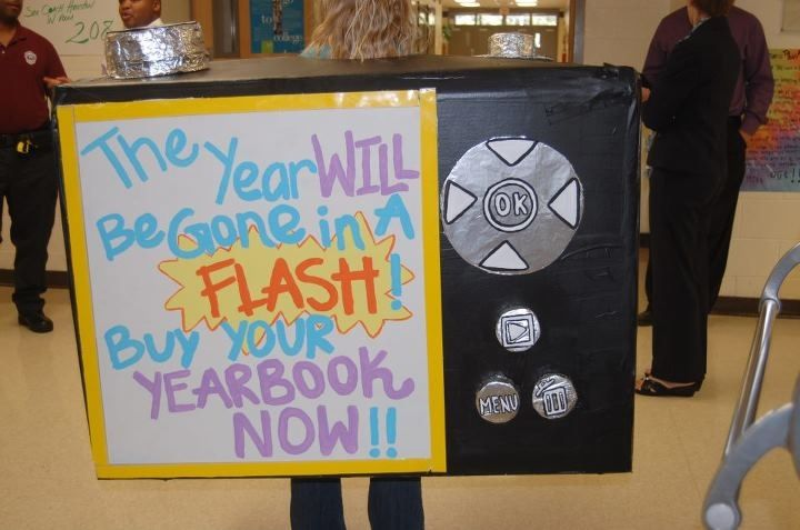 Funny Yearbook Promotion Ideas: Like This For A Poster Idea Instead Of A Camera