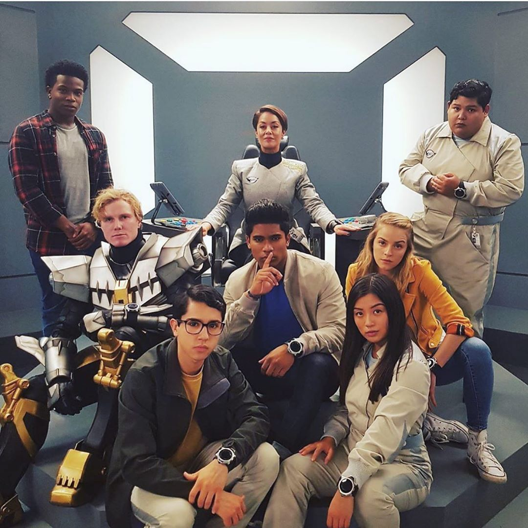 Cast Of Power Rangers Beast Morphers