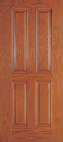 Fiberglass 20 Minute Fire Rated 4 Panel Woodgrain Fire Rated Doors Interior Exterior Doors Fiberglass Door