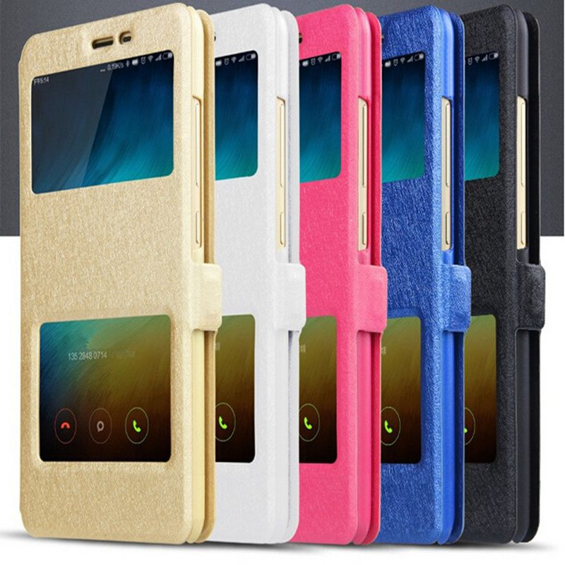 OWNEST Leather Case For Xiaomi Redmi Note 3 Note 3 Pro Note 4 Mobile Phone With Window View  Protector Flip Case #>=#>=#>=#>=#> Click on the pin to check out discount price, color, size, shipping, etc. Save and like it!