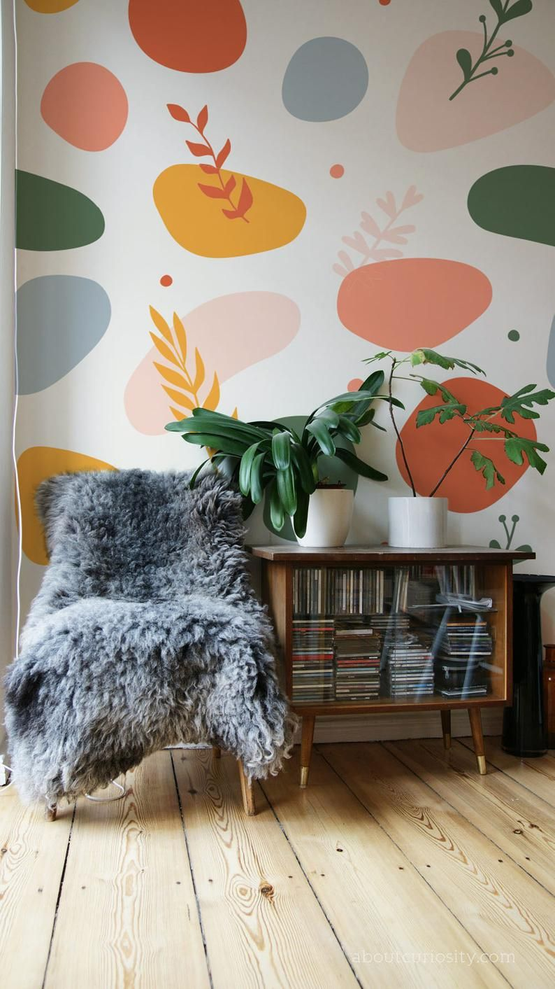 Contemporary Peel And Stick Wallpaper Color Shape Wallpaper Self Adhesive Wallpaper Removable Wallpaper Abstract Wall Mural Jd34 In 2021 Peel And Stick Wallpaper Wall Murals Temporary Wallpaper