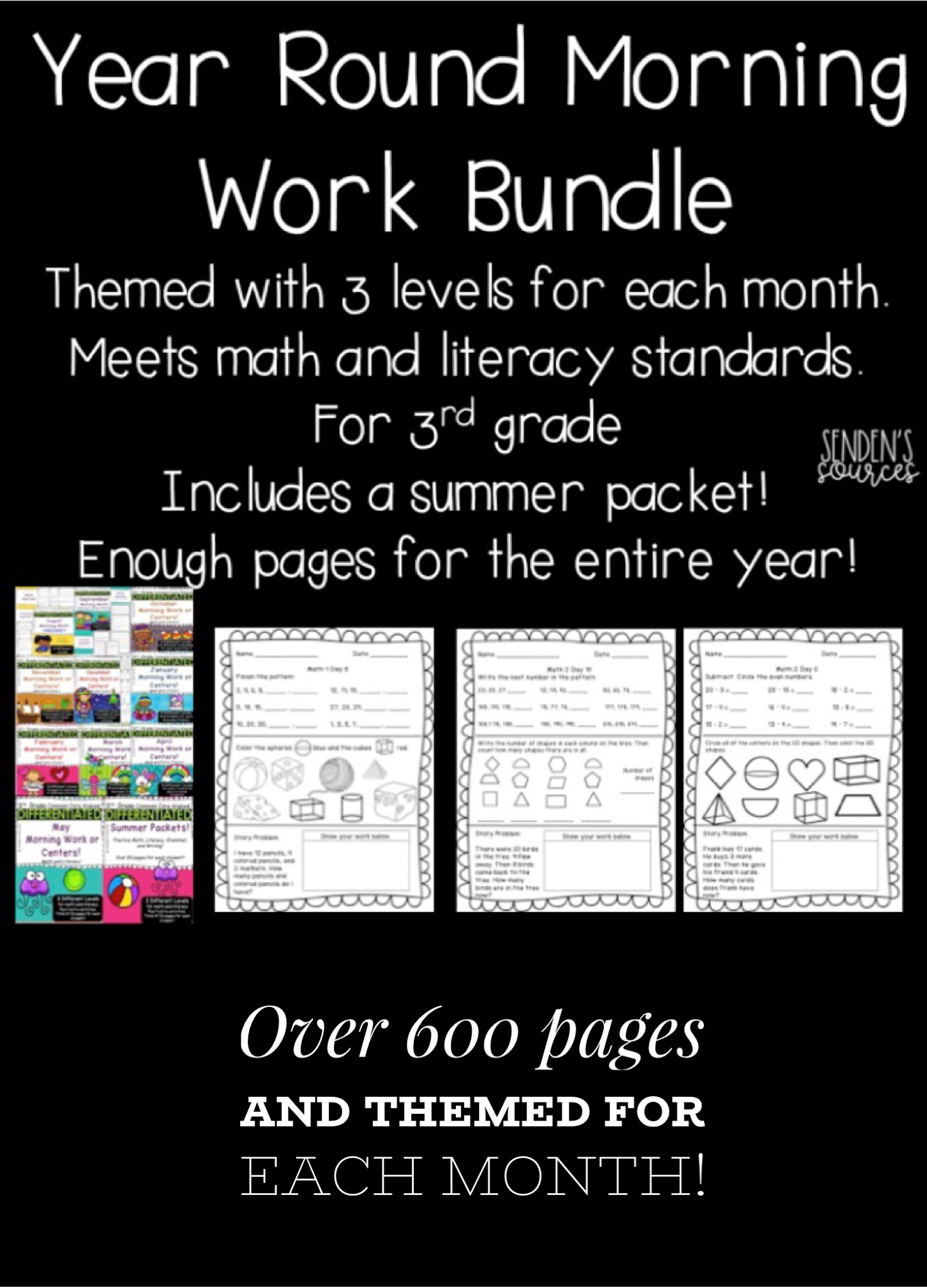 Worksheets For Third Grade Morning Work | Printable Worksheets and