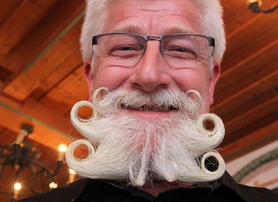 Marvelous Garmisch Partenkirchen Beard Championships Are These Fuzzy Faces Short Hairstyles Gunalazisus