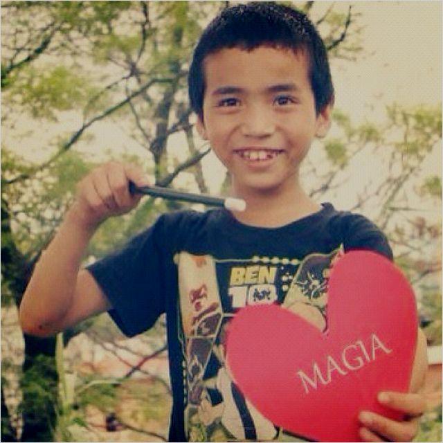 Amor de mago en #Nepal #magia #magic #amor #love #heart #corazon #children #ninos