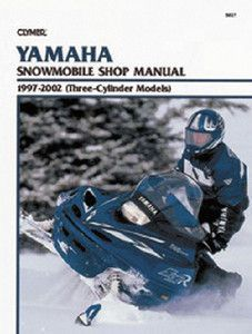 Clymer Service Manual For Yamaha 3 Cylinder Models S827 Snowmobile Yamaha Clymer