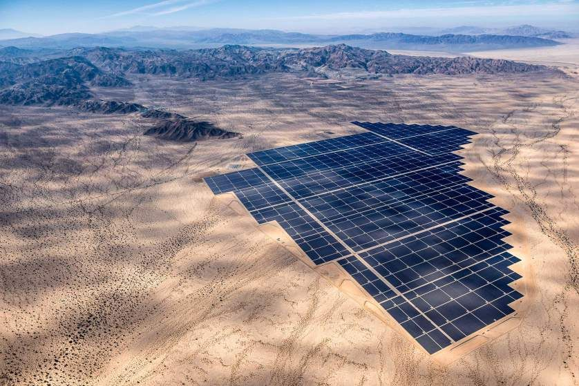 See The World S Largest Solar Plants From Above Solar Solar Power Plant Solar Power Energy
