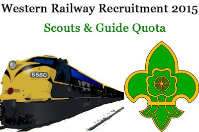 Western Railway Scouts & Guide Quota Jobs 2015