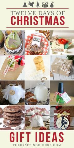 Small gift ideas for 12 days of christmas