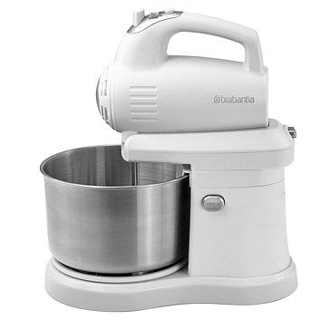 Briscoes Brabantia Bbek1136 Stand Mixer White 300w With Images