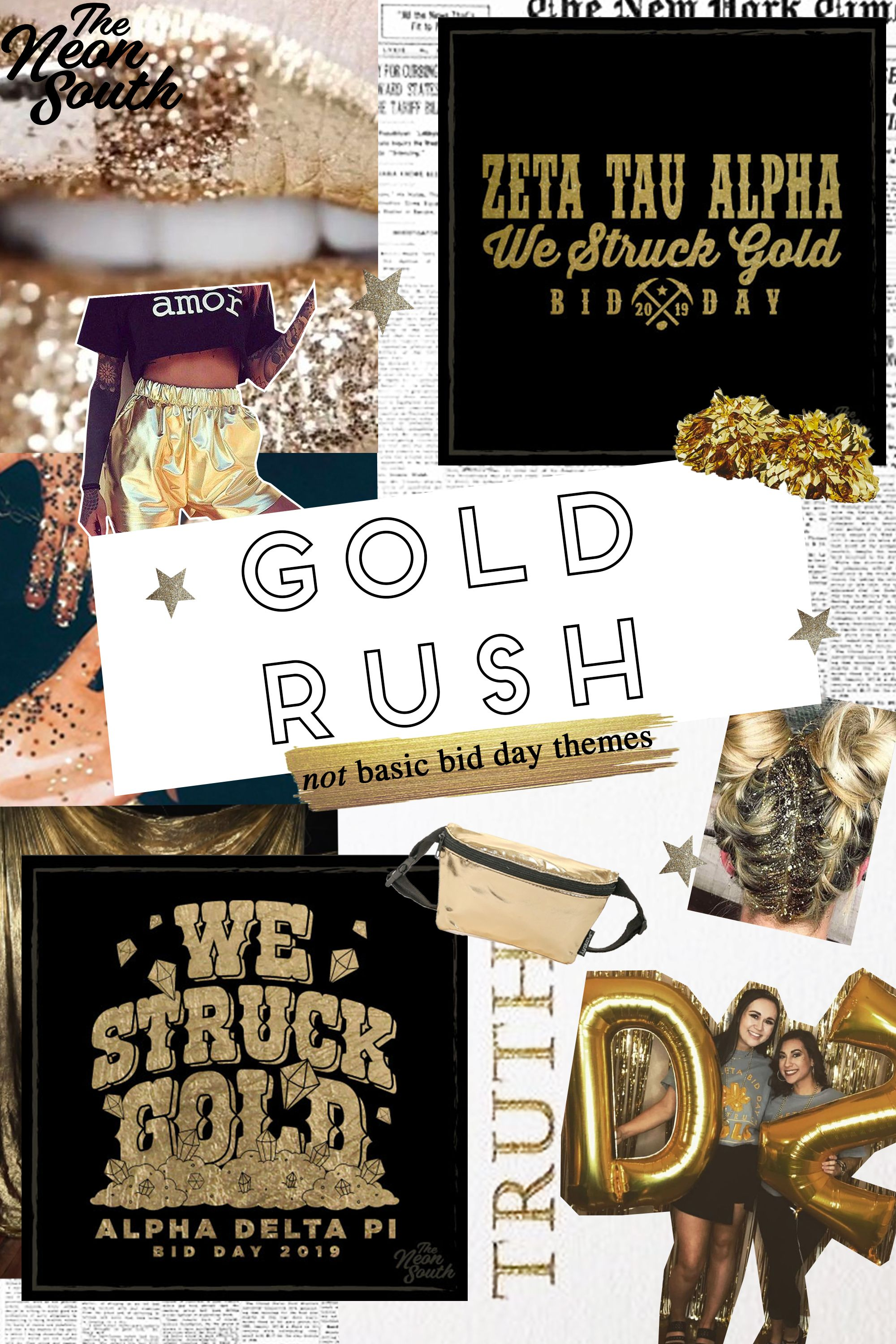 Gold Digger| The Neon South | Online Custom T-Shirts