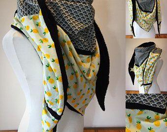 8080f183db4 Maxi Cheche d hiver foulard polaire châle