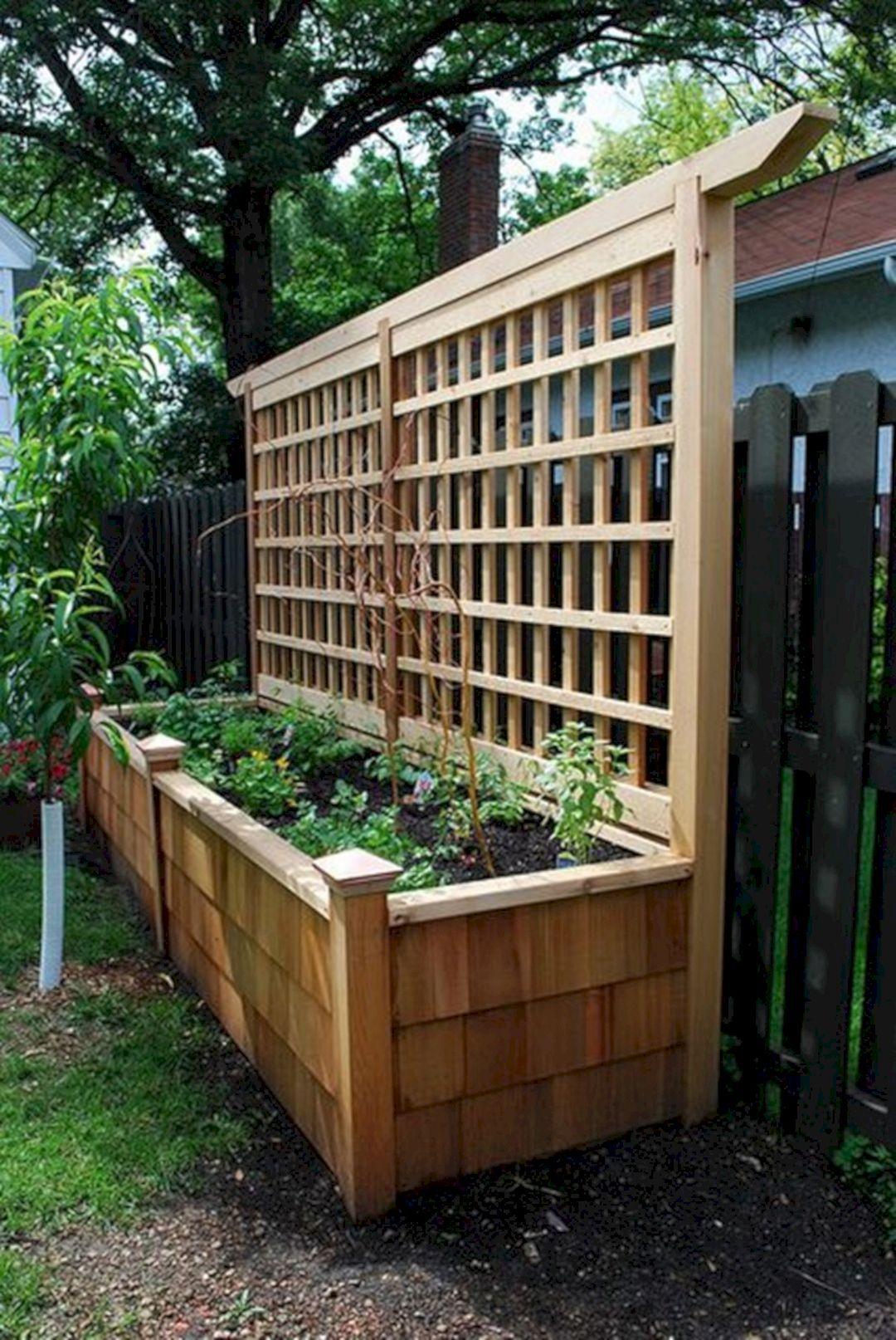 Wall Planter Design Ideas 11 In 2020 Diy Raised Garden Garden