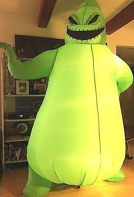 disney nightmare before christmas oogie boogie inflatable halloween 8 blowup