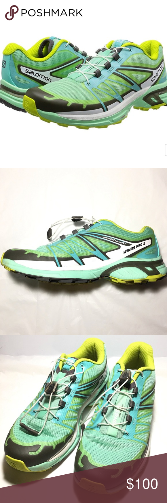 243b2756a714 MAKE OFFERS Salomon Tennis Shoes Size 8