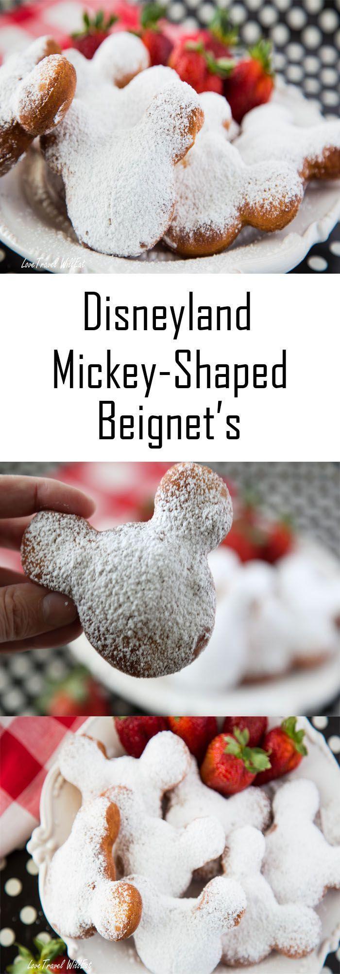Photo of Disneyland Mickey Shaped Beignets • Liebesreisen werden essen
