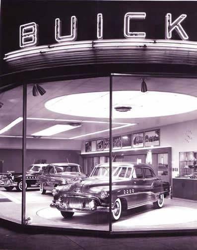 Buick Dealership 1950s Buick American Classic Cars Classic Cars
