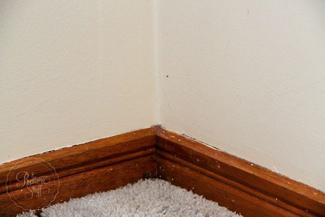 how to paint wood window sills