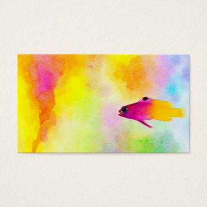Fish business card party gifts gift ideas diy customize party fish business card party gifts gift ideas diy customize negle Image collections