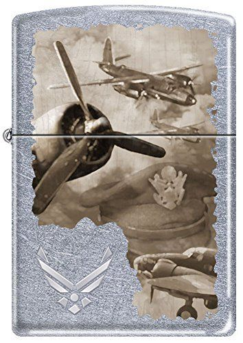 Us Airforce Wwii Vintage Aircraft Montage Zippo Lighter Zippo Lighter Zippo Collection Zippo