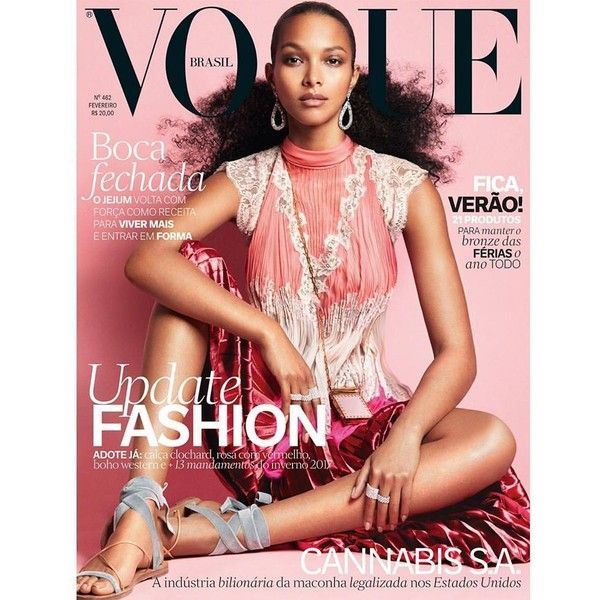 Lais Ribeiro for Vogue Brazil February 2017 Art8amby's Blog ❤ liked on Polyvore featuring bodies
