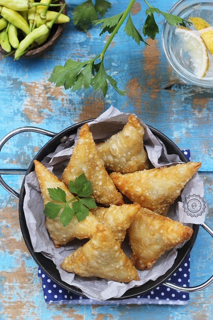 Samosa | Makanan minuman, Makanan sehat, dan Resep masakan